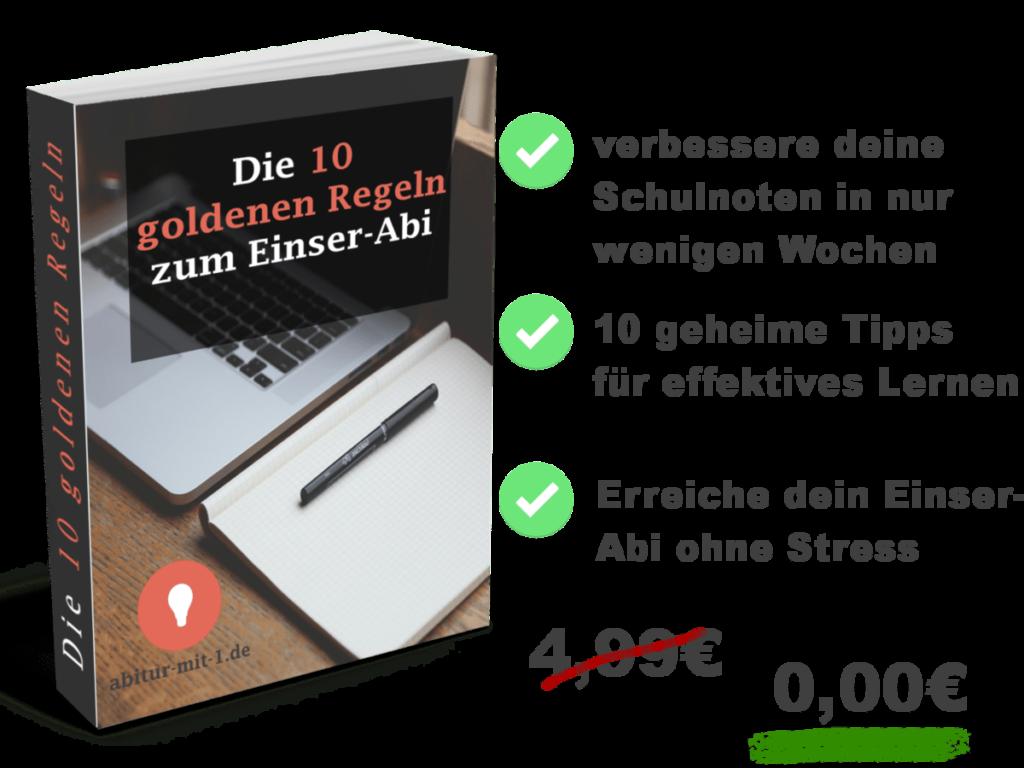 Abitur mit 1,0 - So schaffst auch du das Spitzen-Abitur!